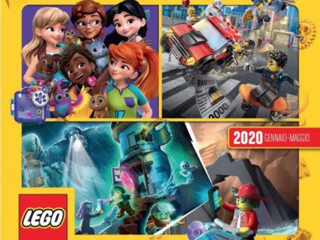 Copertina catalogo lego 2020