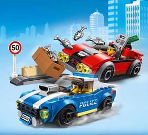 Mattoncini LEGO, Lego city crea le avventure con Duke Daitanil polizziotto
