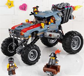 Lego movie 2, gioca con Hemmet Lucy e tutti gli altri